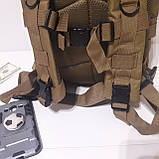 Рюкзак тактический армейский 35 л койот, фото 8