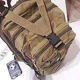 Рюкзак тактический армейский 35 л койот, фото 7