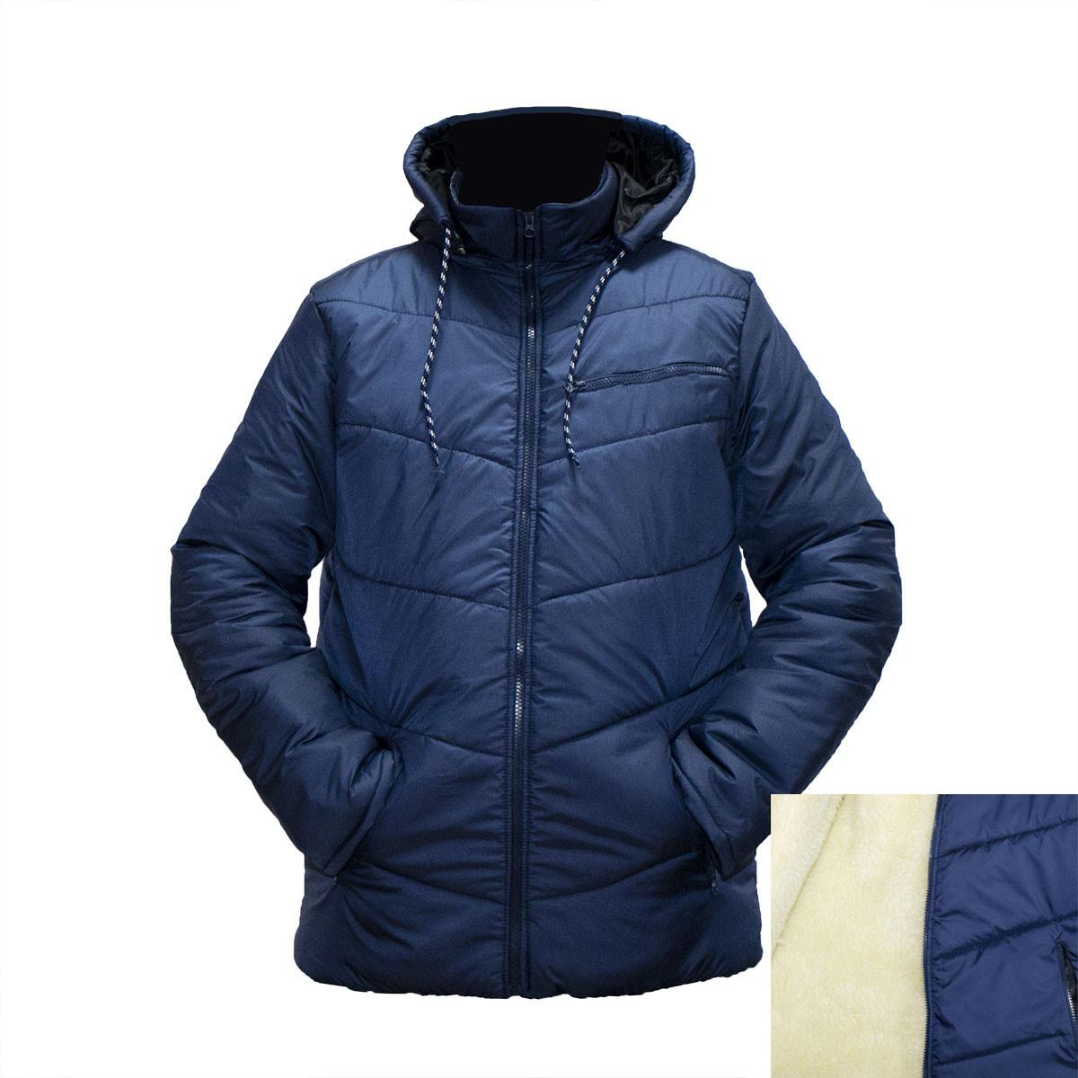Зимние мужские куртки на овчине и синтепоне пр-во Украина  E832H