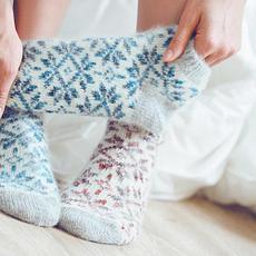 Теплі жіночі шкарпетки