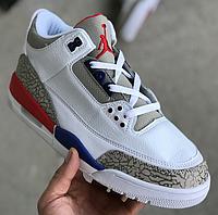 Кроссовки Мужские Nike Air Jordan 4, найк джордан белые, реплика 40 2e4c8aa03d5