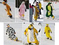 Костюм для сноуборда сноубордистов прикольный кигуруми kigurumi