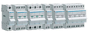 Модульні вимикачі-роз'єднувачі Hager