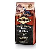 Carnilove Adult Lamb & Wild Boar 1,5кг,  всех пород с ягненком и диким кабаном