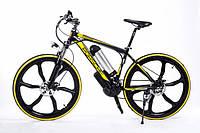 Электровелосипед Porshe electrobike RD Желтый 350, КОД: 213581