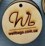 Этикетка деревянная с логотипом