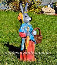 Садовая фигура Заяц большой и Зайчиха большая, фото 3