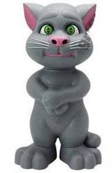 Говорящий Кот Том - колонка, MP3 плеер, USB,FM, TF, MicroSD