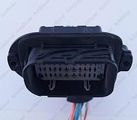 Разъем электрический 42-х контактный (56-33) б/у 211PL429S0034