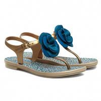 Женские сандалии Grendha Açaí Beija-Flor blue, фото 1