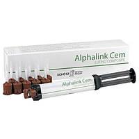 Alphalink Cem (Альфалинк Цем) композит двойного отверждения.