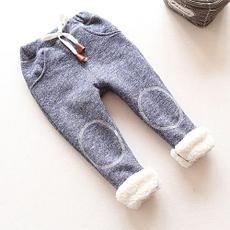 Теплые джинсы и брюки для девочек
