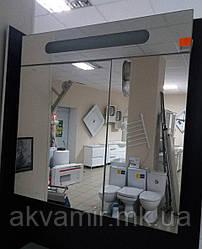 Зеркальный шкаф в ванную Николь 90 см с подсветкой