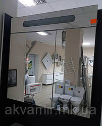 Зеркальный шкаф в ванную  Николь 80 см с подсветкой