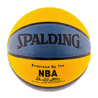 Мяч баскетбольный тренировочный Spelding №7 PU желто-синий