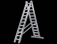 Лестница универсальная 2-х секционная TRITON-tools 6ступ.