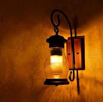 Декоративная светодиодная лампа живой огонь FIREFLUX 5W E27 3 режима 220V Код.59402, фото 2