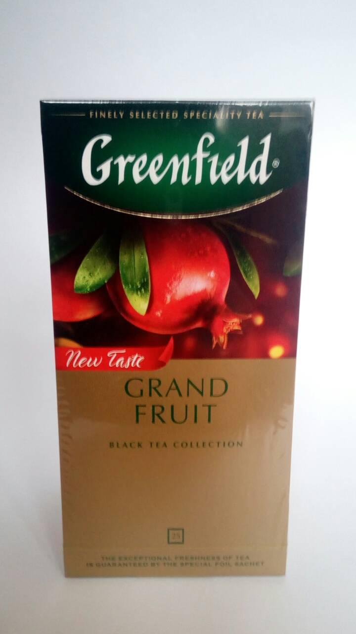 Чай Greenfield Grand Fruit 25 пак.