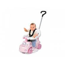 Автомобиль детский с родительской ручкой Smoby Hello Kitty