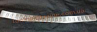 Накладка на задний бампер без надписи с резиной для Lexus rx 2009-2011