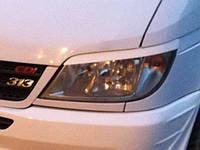 Реснички бровки тюнинг Mercedes Sprinter W901-905