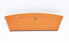 Автомобильный карман-органайзер Type-2 Brown с логотипом Hyundai пинал для автомобиля подарок