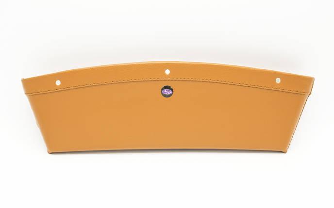 Автомобільний кишеню-органайзер Type-2 Brown з логотипом Subaru штурхав для автомобіля подарунок, фото 2