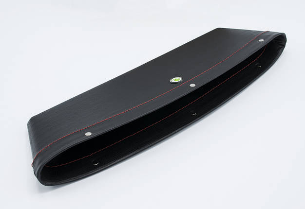 Автомобильный карман-органайзер Type-2 Black с логотипом Skoda пинал для автомобиля подарок, фото 2