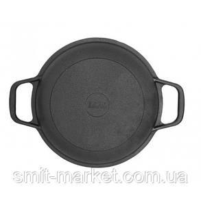 Сковорода чавунна порційна на підставці Біол 22 см (02042д), фото 2