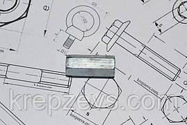 Гайка М10 DIN 6334 оцинкованная