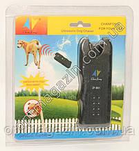 Ультразвуковий відлякувач собак + ліхтар MT - 650