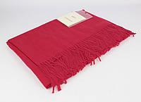 Плотный, нежный кашемировый шарф, палантин Sky Cashmere 7080-18 красный