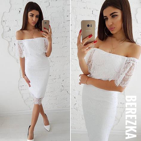 Платье из кружева ресничка, фото 2