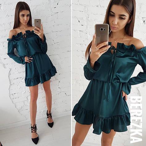 Платье шелковое, фото 2