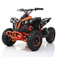 Двухместный Детский Электро-Квадроцикл 1000ват (1000Q-7 Оранжевый), фото 1