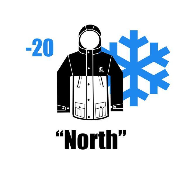 "Парка ""North"" Зимняя"