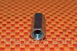 Гайка М16 DIN 6334 оцинкованная