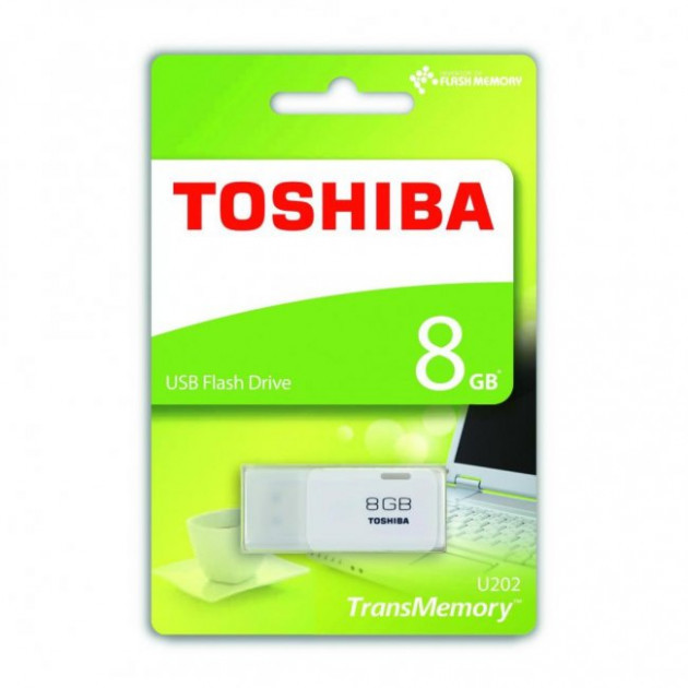 "USB-Flash 8 Gb ""TOSHIBA"" HAYABUSA White"