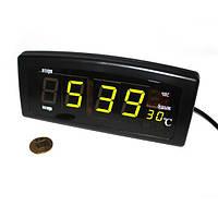 Часы будильник Caixing CX-818 настольные 220 W Черный