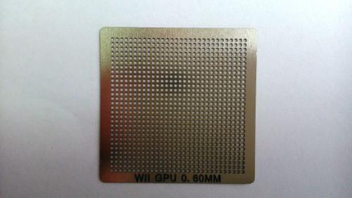 BGA трафарет WII GPU ( новая версия )