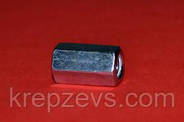 Гайка М30 DIN 6334 оцинкованная