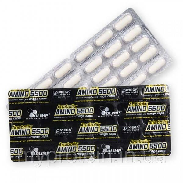 Аминокислоты Anabolic Amino 5500 (1 блистер )