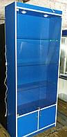 Шкаф витрина ДСП + Стекло, фото 1