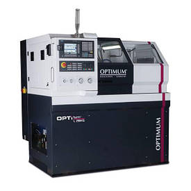 Токарный станок по металлу с ЧПУ Optimum L 28HS CNC