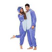 Кигуруми пижама Стич фиолетовый