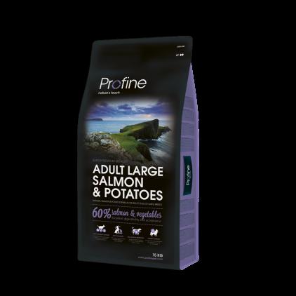 Profine Adult Large Breed Salmon 15 кг, лосось и картофель для взрослых собак крупных пород