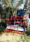 Мульчер лесной, измельчитель деревьев, садовый измельчитель, лесной измельчитель TFVJA, фото 2