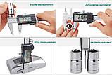 Штангенциркуль №5к цифровий 150мм 0.01 mm сталь мікрометр, фото 4