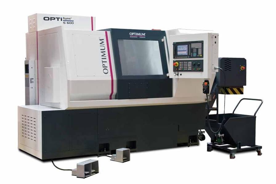Токарный станок по металлу с ЧПУ Optimum S 600 CNC