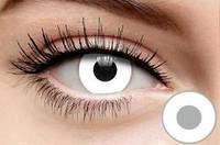 Цветные линзы для глаз, белые